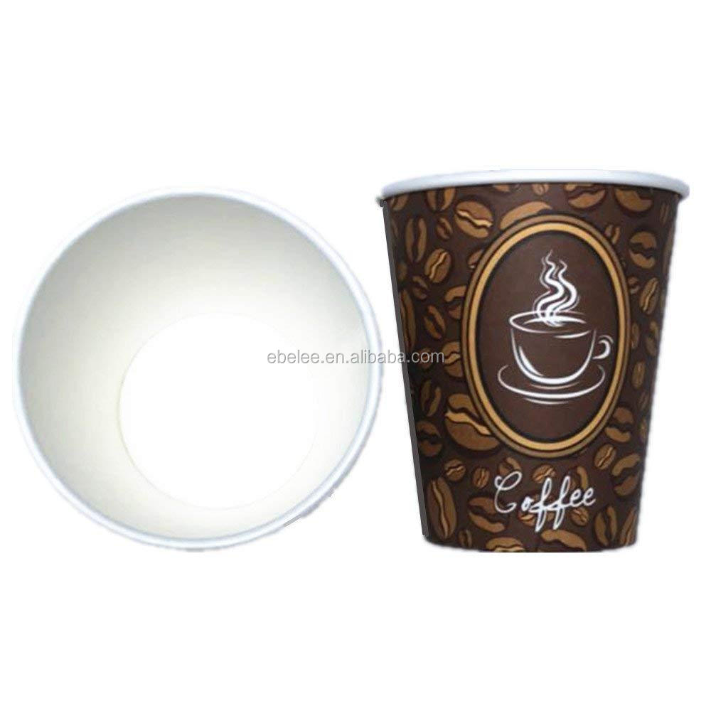 Custom cheap 4oz small coffee cups paper material