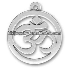 cheap wholesale om sanskrit yoga letters charm pendant jewelry