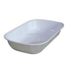 Hot meal Aluminium foil tray/box/container with lid