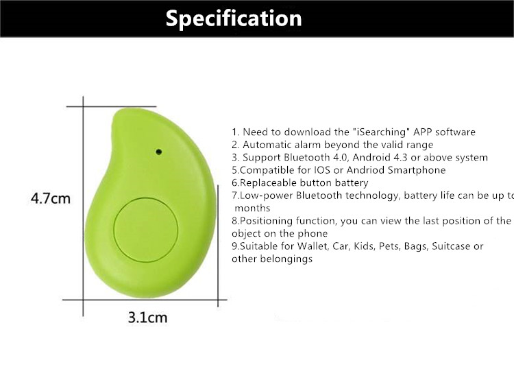 Safe GPS location Tracker Mango Type Two-way anti lost Child Tracker