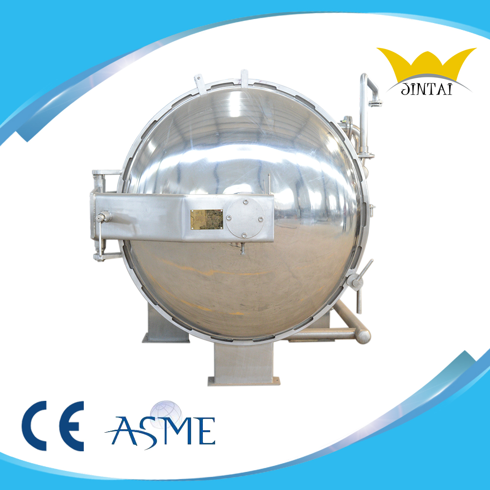 Sterilizing machine for meat equipment