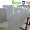 Largest Size Light Grey Mirror Artificial Quartz Slab