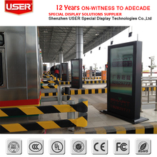 55inch Outdoor Advertising LCD Touch Screen Display,Capative touch Screen Stand floor advertising player