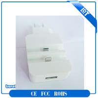 5V 3000mA USB wall charger/ Docking station travel charger