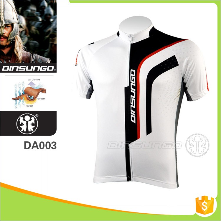 High quality soft and comfortable bike wear design your own cycling jerseys dinsungo DA003