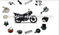 HaoJue Motorcycle HJ125-7 Spare Parts and Accessories