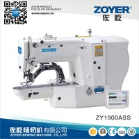 ZY1900A Zoyer Juki Direct Electronic Bar Tacking button holing Industrial Sewing Machine