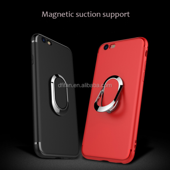 DFIFAN Trending Phone Case for iphone 6 6 plus, High quality Rotating Bracket Metal Holder TPU Back Cover for iphone 6s case