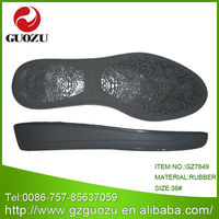rubber outsole material and beach use latest footwear