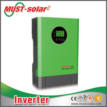 water pump/ air condition/refrigerator /Pure sine wave 3000W dc to ac hybrid off grid solar inverter