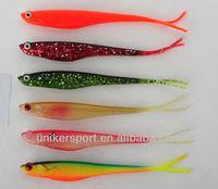 plastic rubber fishing shad soft fish baits