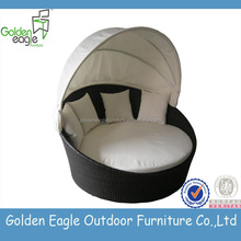 hotsale models around world rattan furniture sofa bed