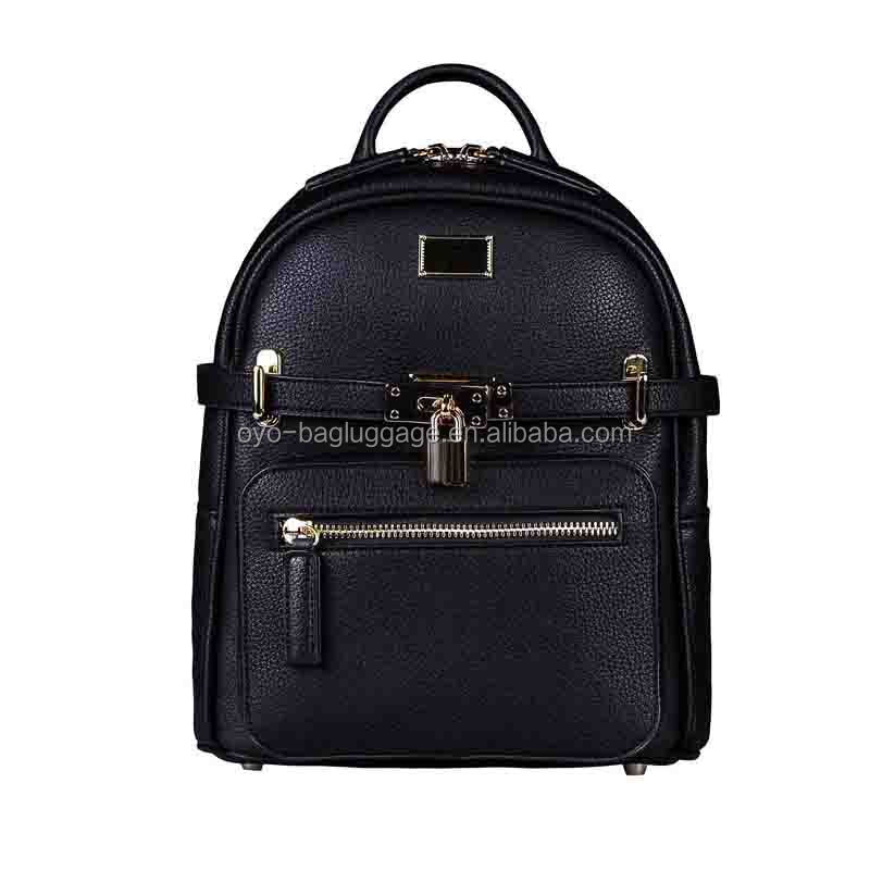 Ladies Backpack School Bag Stylish PU Leather Studded Bag
