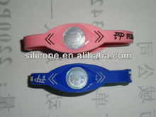 silicone custom power balance bands