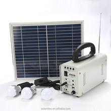 Top quality hot selling for africa market 10w small solar lighting kits