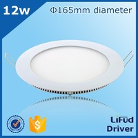 EMC standard CRI > 80 PF >0.9 80lm/w 6w 8w 12w 15w 18w 20w 25w ultra-thin led recessed ceiling panel light