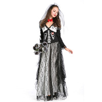 Halloween party ghost costume for women