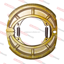 motorcycle brake shoe lining CG125 BAJAJ GN125 Manufacture experienced 30 years