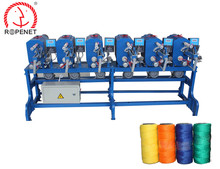 Sewing thread rolling machine