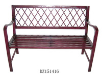 Wooden Finish Cast Iron Park Bench Slats