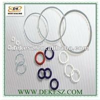 FDA silicone white rubber o ring manufacture in Shenzhen China