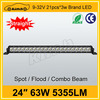 "High power tuning light 24"" 63W Mini led light bar made in china"