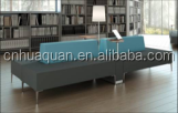 A629#Modern wood office sofa bench,hotel sofa in living room sofas