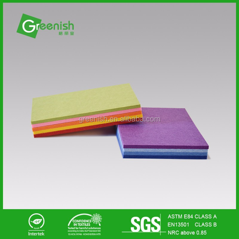 New arrival qrd diffuser polyester fiber material acoustic panel for building