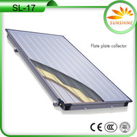 Solar flat panel solar collectors black chorme Solar Water Heater