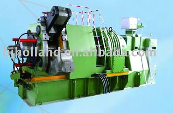 Continuous extrusion machine for copper