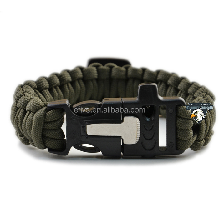 Alibaba China 1000ft paracord spool for 2015 fire starter whistle buckle paracord bracelet