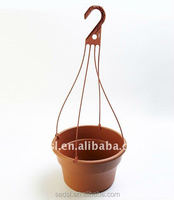 Plastic hanging baskets wholesale, hanging flower pots,