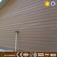 Hollow Waterproof Exterior WPC Wall Cover Wall Cladding Panel