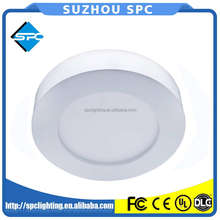 Indoor 16W Round Semi-transparent PMMA Differ LED Panel For Home Lighting