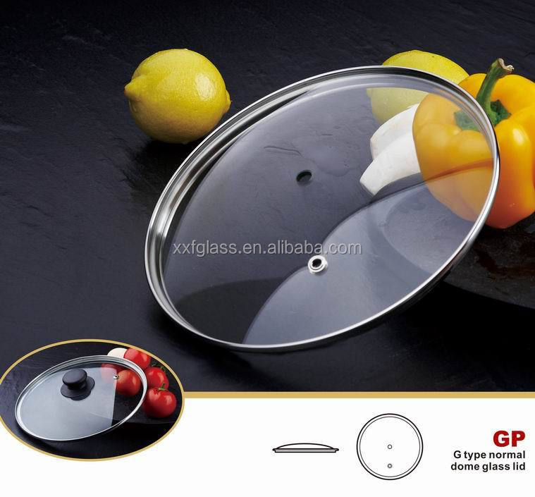 Rustless frying pan Glass lid