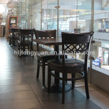 T230 Modern Wood Restaurant Tables And Chairs