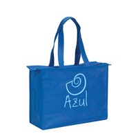 Full printing lovely shopping navy blue non woven bag