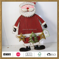 door decoration santa claus doll supplies