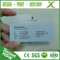 PVC Shopping Card, Discount Shopping Card, Plastic Name Card