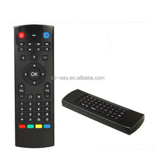 Hot selling 2.4GHZ air mouse full QWERTY keyboard,android ir remote control