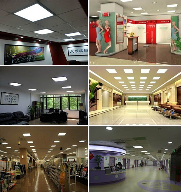 2 year warranty updated flat led panel light 300*600 25w office panel light