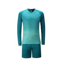Custom Long Sleeve Sublimation Soccer Football Jersey Soccer Jersey