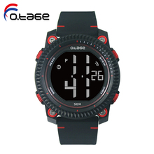 brand your own fashion custom watch Waterproof silicone digital sports watch