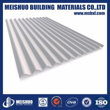 Exterior Zinc Coated aluminium corrugated roofing sheets