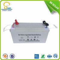 Hot sale 12V 80ah mf deep cycle gel lead acid battery for solar from china