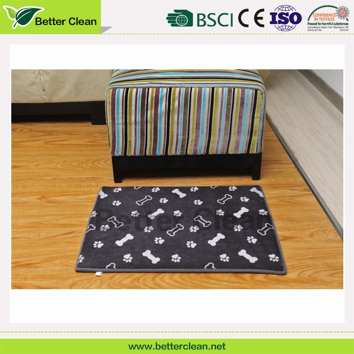 Softextile square shape pet flooring with foam dog house mat