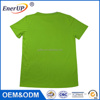Wholesale fitness short sleeve sports wear thermal wicking antibacterial branded t-shirt