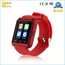 2014 New Smart Bluetooth Watch U10 with LED display / Dial / SMS Reminding / Music Player / Pedometer for IOS Android phones