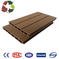 WPC Waterproof Interlocking Composite Decking, Low Maintenance wpc wall cladding outside