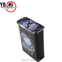classical metal tin box package for cigar, metal tin box supplier